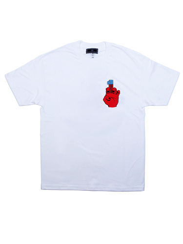 KINGKROACH X JIMI CHOPPERS TEE [WHT]