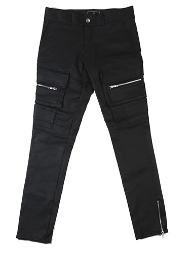 COATED DOUBLE POCKET PANTS