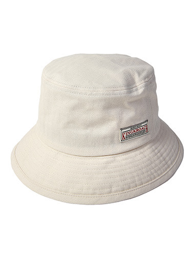 18S BASIC BUCKET HAT [WHITE]
