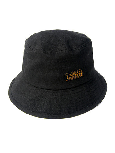 18S BASIC BUCKET HAT [BLACK]