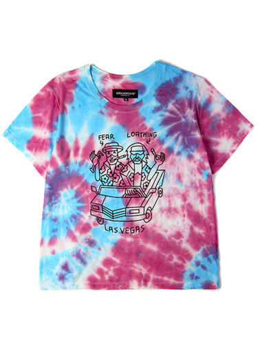 FEAR AND LOATHING TIE DYE TEE