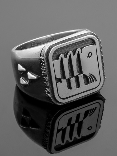 KILLBEROS AUTHENTIC LOGO RING